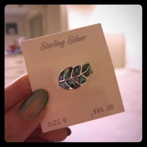 Jewelry - Sterling silver ring! Size 6!